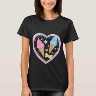Ice Cream - Black T-Shirt