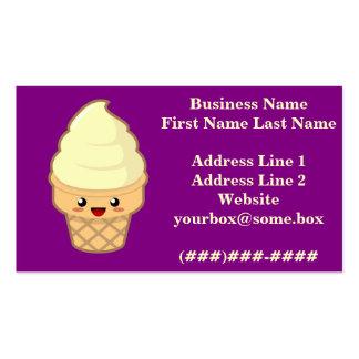 Ice Cream Business Card Templates