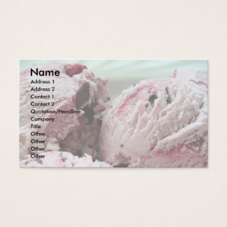 Ice Cream Business Cards 001