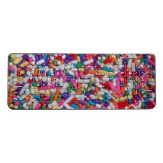 Ice Cream Candy Sprinkles Wireless Keyboard