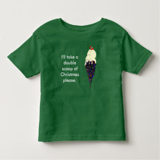 ICE CREAM CHRISTMAS by Slipperywindow Toddler T-shirt