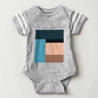 Ice Cream Color Block Baby Bodysuit