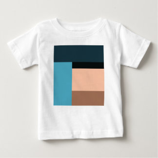 Ice Cream Color Block Baby T-Shirt