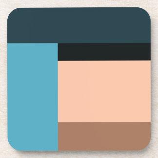 Ice Cream Color Block Coaster