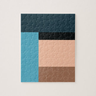 Ice Cream Color Block Jigsaw Puzzle