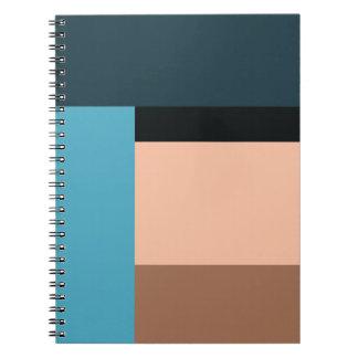Ice Cream Color Block Notebooks