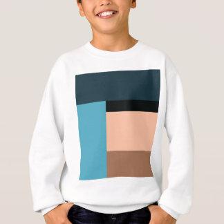 Ice Cream Color Block Sweatshirt