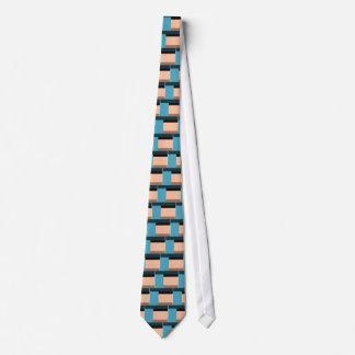 Ice Cream Color Block Tie