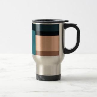 Ice Cream Color Block Travel Mug
