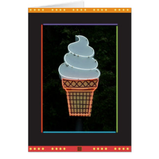 Ice Cream Cone-Card Card