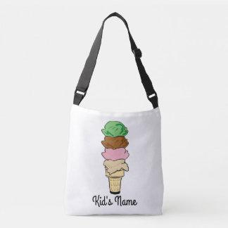 Ice Cream Cone Crossbody Bag