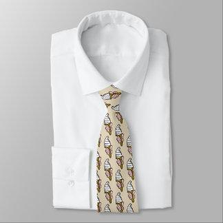 Ice Cream Cone Design Tie