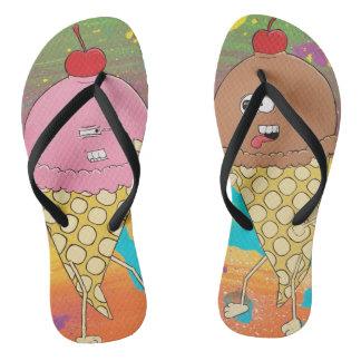Ice Cream Cone Fight Sandals