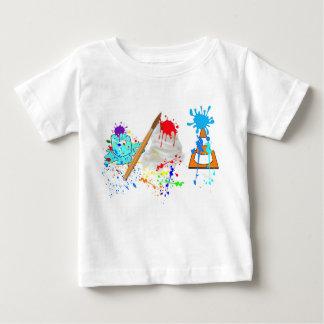 Ice Cream Cone! Fresh Paint Edition Baby T-Shirt