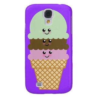 Ice Cream Cone Kawaii Art