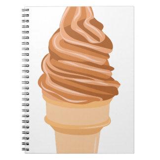 Ice Cream Cone Notebooks