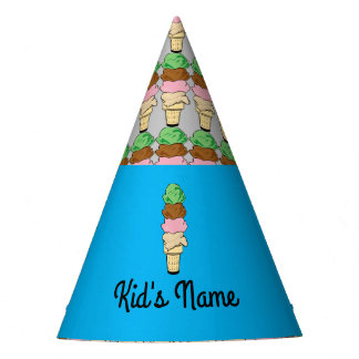 Ice Cream Cone Party Hat
