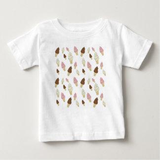 Ice Cream Cone Pattern Baby T-Shirt