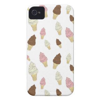 Ice Cream Cone Pattern Case-Mate iPhone 4 Cases