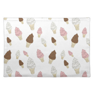 Ice Cream Cone Pattern Placemat