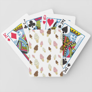 Ice Cream Cone Pattern Poker Deck