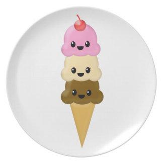 Ice Cream Cone Plate
