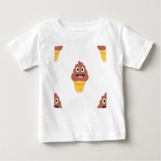 ice cream cone poo emoji baby T-Shirt