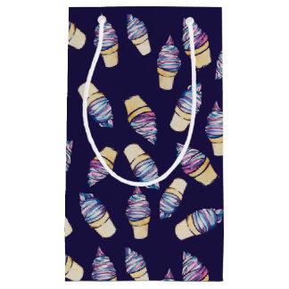 Ice Cream Cone retro dreams Small Gift Bag