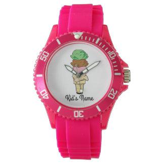 Ice Cream Cone Watch