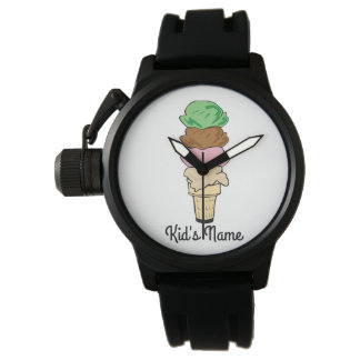Ice Cream Cone Watch