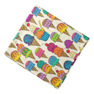 Ice Cream Cones Bandana