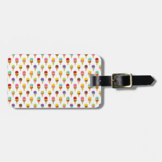 Ice Cream Cones Luggage Tag