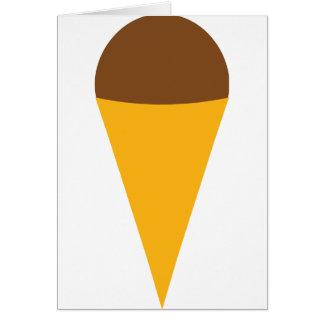ice-cream cornet icon card