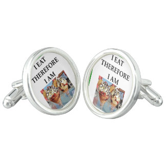 ice cream cuff links