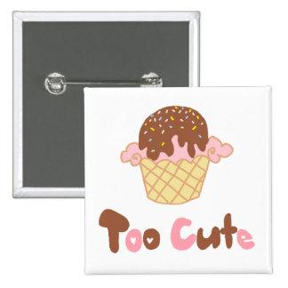 Ice Cream Cupcake Pins