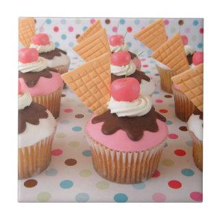 Ice Cream Cupcake Tile