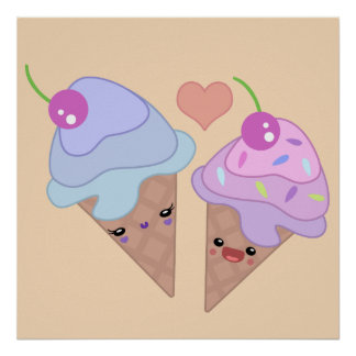 Ice Cream Cuties Poster