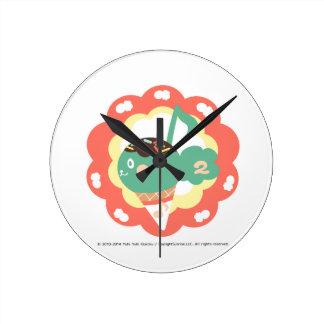 Ice-cream diacritic wall clock