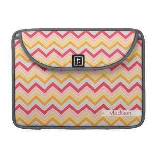 Ice Cream Dream {chevron pattern} Sleeves For MacBooks