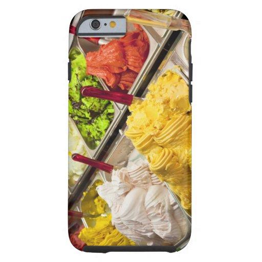 Ice cream flavors, Paris iPhone 6 Case
