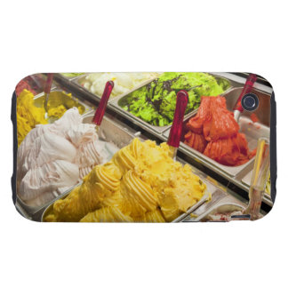 Ice cream flavors, Paris Tough iPhone 3 Covers