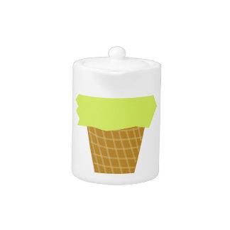 ice cream fun style yellow