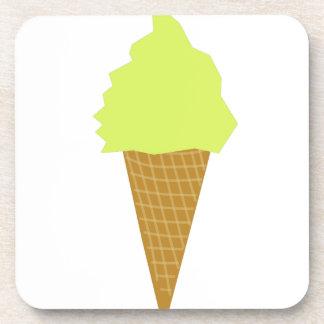 ice cream fun style yellow coaster