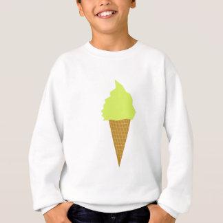 ice cream fun style yellow sweatshirt