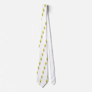 ice cream fun style yellow tie
