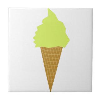 ice cream fun style yellow tile