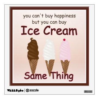 Ice Cream Happiness Wall Decal