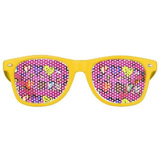ice cream heart retro sunglasses