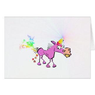 Ice Cream Horn - Donkey Corn Card