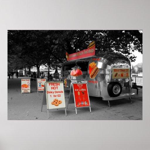 Ice Cream Hot Dogs Print
